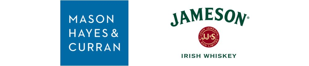 With thanks to Mason Hayes and Curran for sponsoring one of our Graduate Awards, and Jameson Irish Whiskey for sponsoring our opeing reception