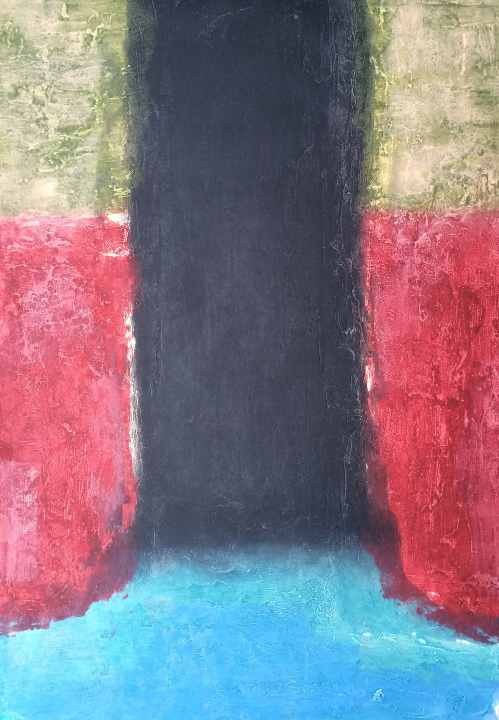 Gwen O'Dowd, Spaces  Carborundum, sheet and image 125x85cm, €1270.00 unframed