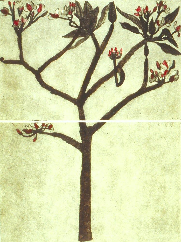 Cliona Doyle, Temple  Carborundum, sheet size 135x105cm, image size 120x100cm, €1,700.00 unframed