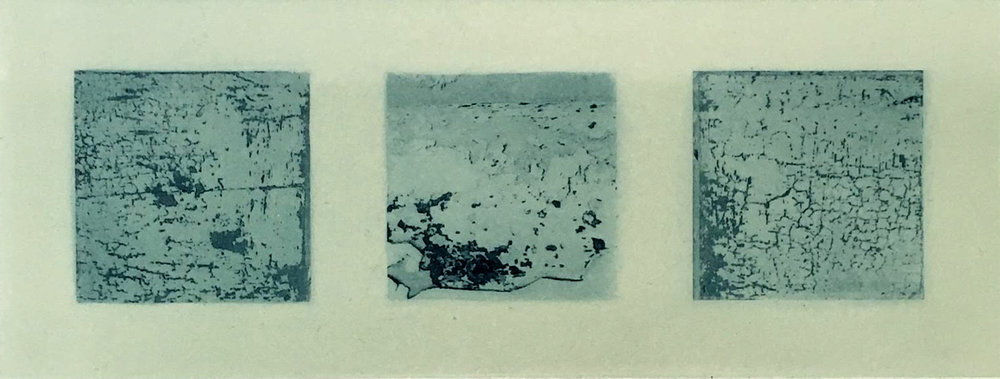 Maura Keating - Relics of Auld Dacency'  photo intaglio, image size: 8 x 20.5 cm, paper size: 21 x 32.5 cm,  €90 unframed price