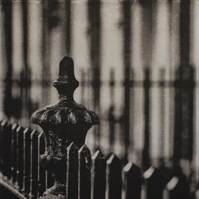Matthew Gammon-Railings at Mountjoy, Photo Intaglio Print,   image size: 25 x 25 cm, paper size: 52.5 x 37.5 cm,  €290 unframed price