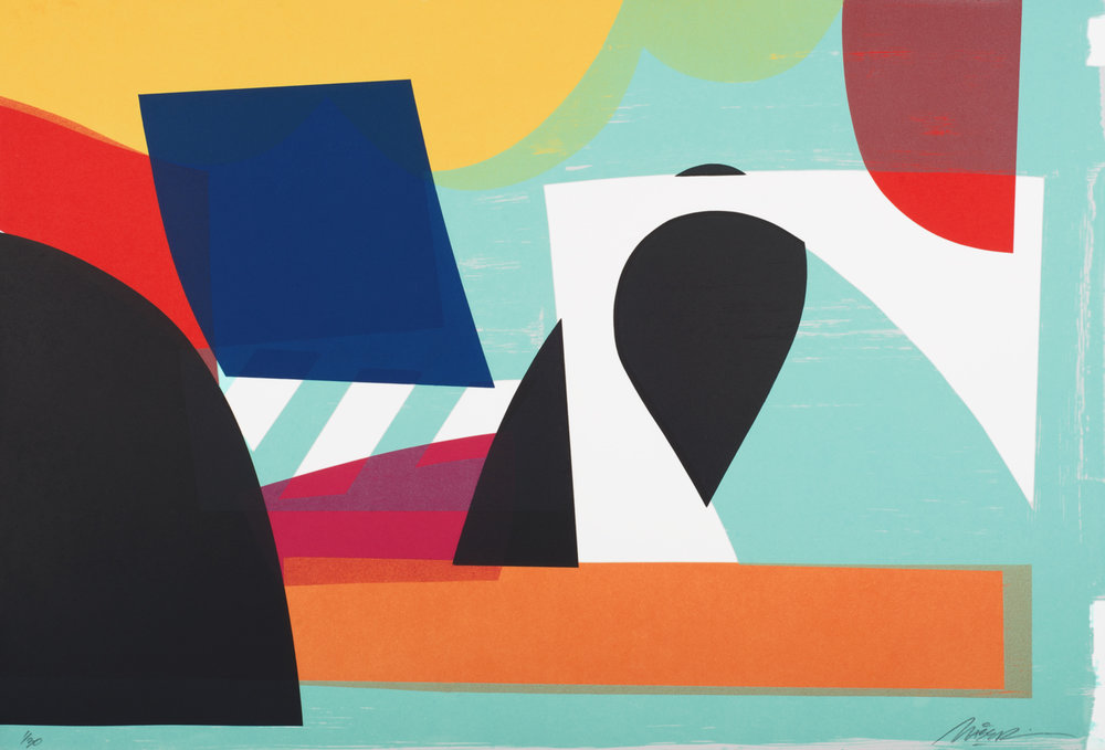 Maser, photo intaglio, paper and image size: 49x72cm, €500 unframed