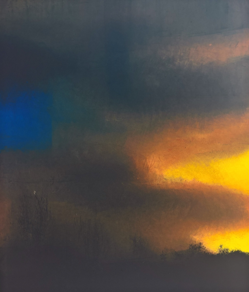 Gloaming, monoprint, paper and image 65.7 x 54.7 cm, €750  SOLD