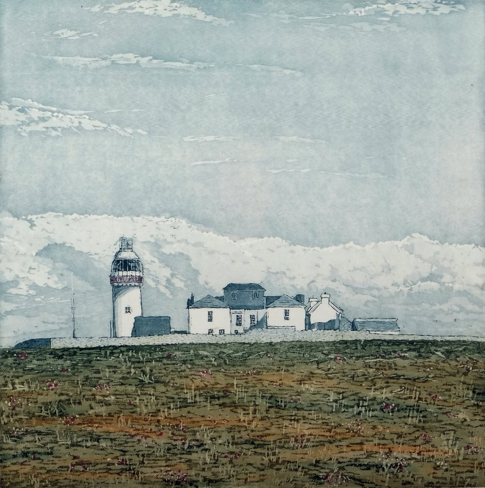 Susan Early,   Loop Head , ed. of 25, etching & aquatint, plate: 30 x 30cm, paper:  46 x 46cm  Unframed price: €320