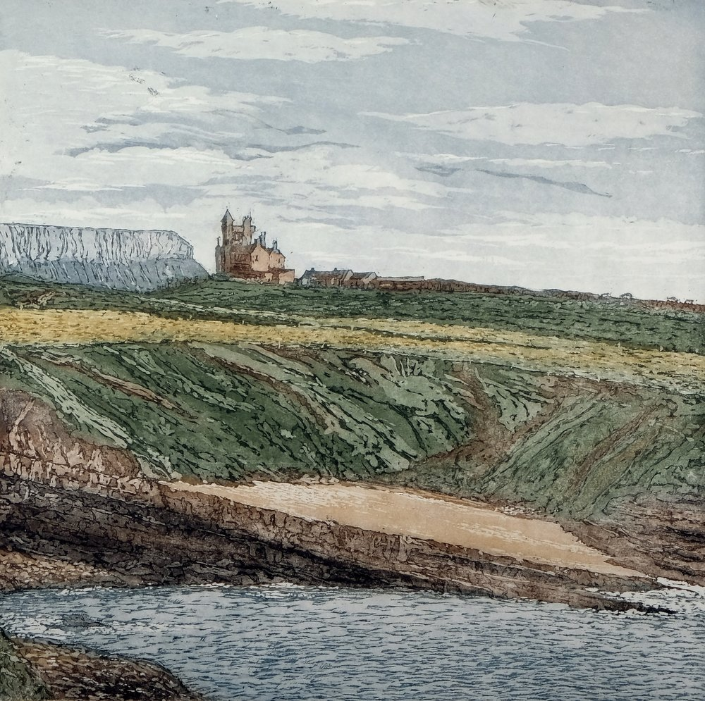 Susan Early,   Mullaghmore , ed. of 25, etching & aquatint, plate: 30 x 30cm, paper:  46 x 46cm  Unframed price: €320