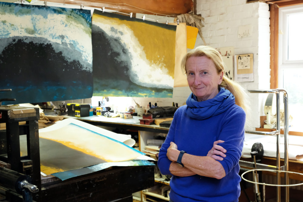 Gwen O'Dowd at Graphic Studio Dublin