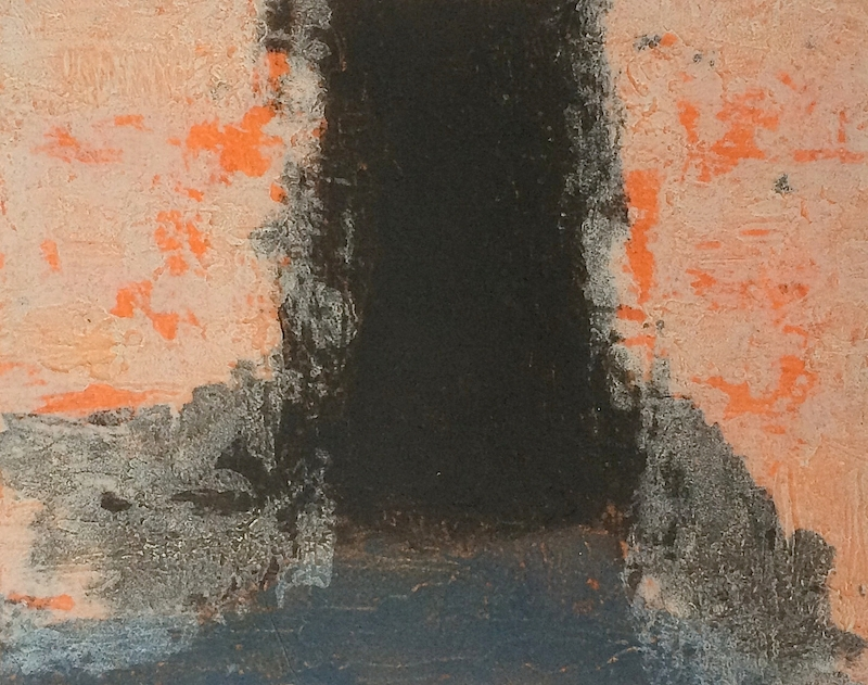 Study for spaces 6, carborundum, paper and image 31.5 x 39 cm, ed of 1, 2001, €850 framed