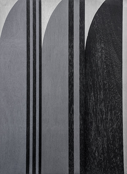 Tom Phelan, Three Greys for Eileen, Woodblock Print, 31cm x 23cm, € 400 unframed