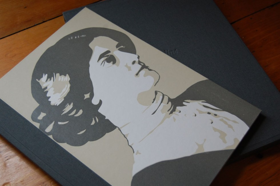 Mary Plunkett, Evelyn, letterpress and linocut, standard edition €240. Deluxe edition €390.
