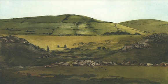 Robert Russell, Green Hills, 30cm x 59cm, ed. of 50, 370€