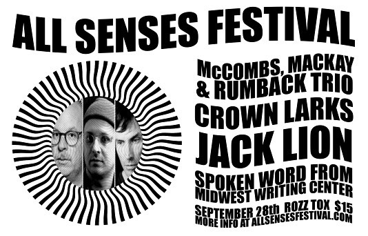Fun one coming up in the #quadcities for @allsensesfest on 9/28