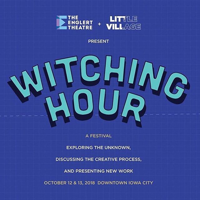 We're doing @witchinghourfest this weekend on Saturday 10/13 at @iowacitygabes opening for Jaimie Branch!! We're on at 10. #witchinghourfest #iowacity