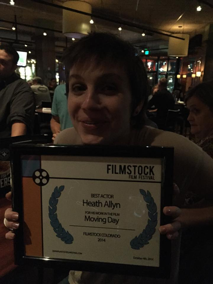 Best Actor - Heath Allyn at Filmstock Colorado, 2014