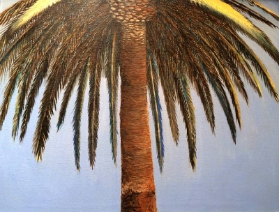 West Canon Perdido St. Palm by artist Gary Chafe