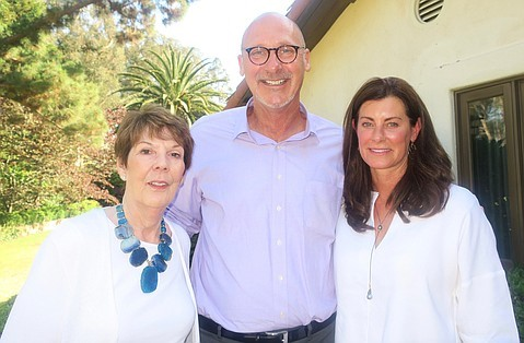 By Gail Arnold - HSB Ambassador Linda Yawitz, CEO David Selberg, and HSB Ambassador Mary Blair.