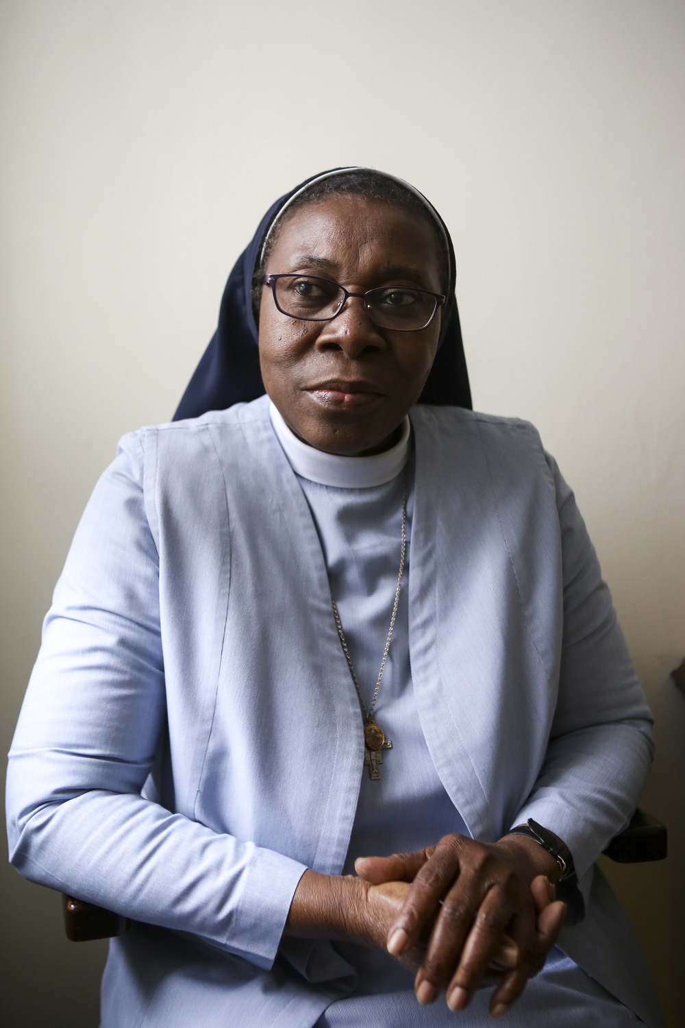 "Sister Gertrude Lilly Ihenacho     Joined in 2000, from Nigeria    ""Our work here is to educate minds—knowledge is power. And if you educate the minds of the ignorant or those who have no opportunity to be educated, it's social justice practiced. Religious life is intellectual stuff. To me, it is a call. Because, on the natural, I would not be a nun. That's how I knew it was a call. Because sometimes I ask myself,   What are you doing here?   I don't think I would choose to be a nun. For me to leave my medical practice, it's God that is calling. It's a call; it's not something that you do with your head."""