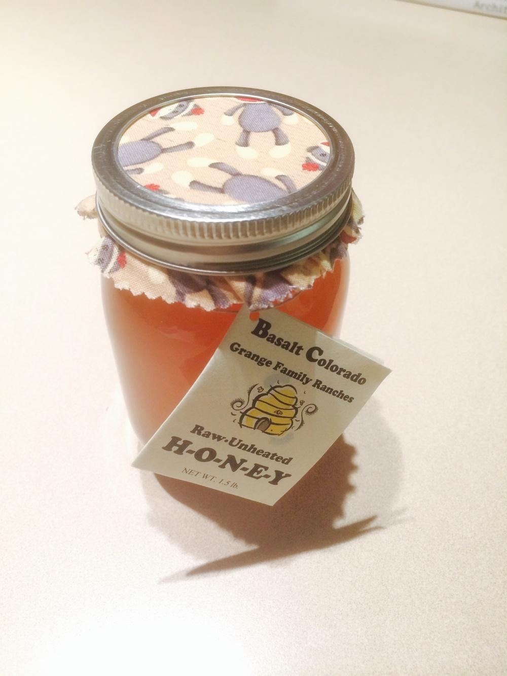 Honey from Basalt, souvenir for myself