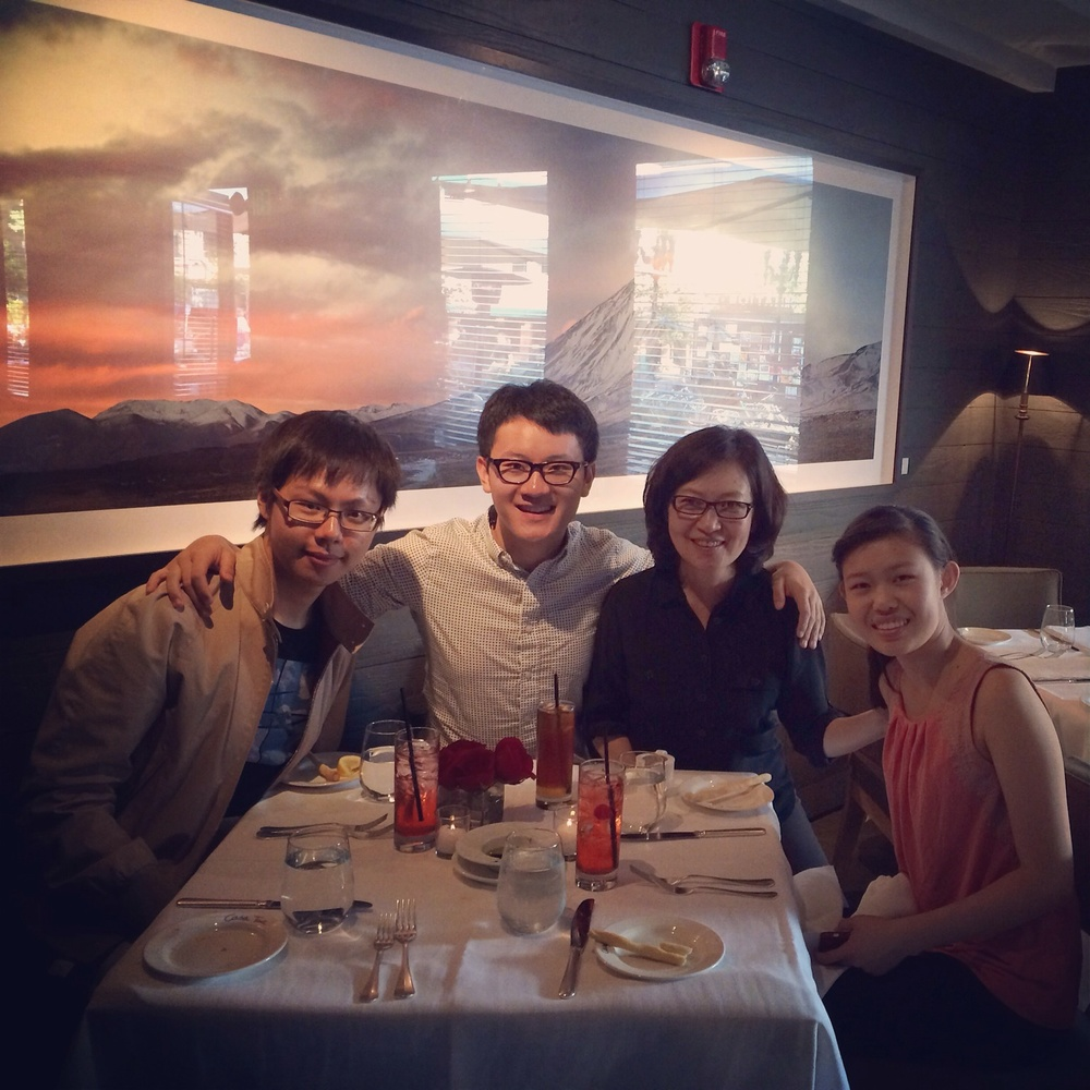"with ""Family in Aspen"""