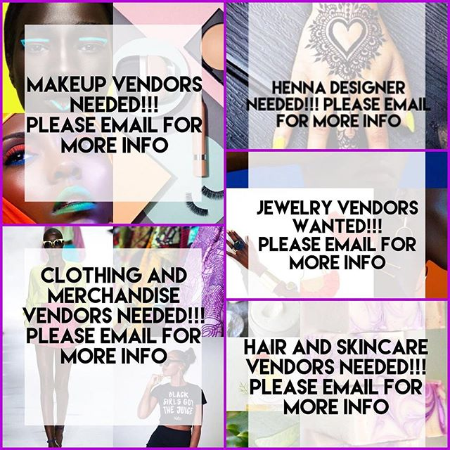 Seeking Female vendors for our Women's empowerment event scheduled for 8/19/17 in Brooklyn NY from 4-10 pm. Please contact @_zauditu_ for more details. ⠀⠀⠀ ⠀⠀⠀
