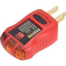 Diamond Head Home Inspection, a Honolulu Home Inspection Business. GFCI tester used to test the functionality of a electrical system.    Oahu Home Inspector, Oahu Home Inspections, Honolulu Home Inspector, Honolulu Home Inspections