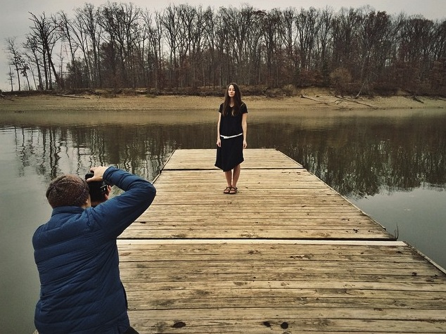 Had a great time this weekend shooting some images for our next Lookbook - here's a behind the scenes sneak peek.