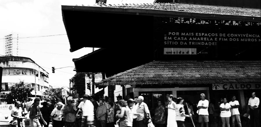 Casa Amarela's public market
