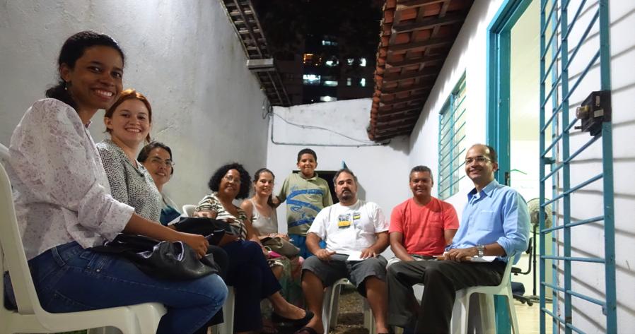 Casa Amarela Saudável e Sustentável initiative.