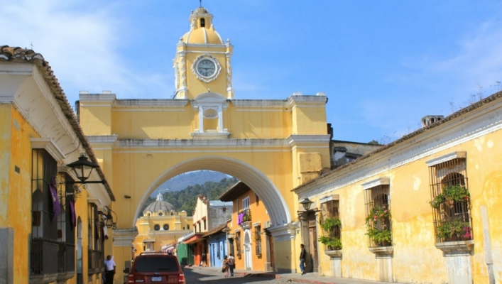 Arch in Antigua, A Unesco World Heritage Site