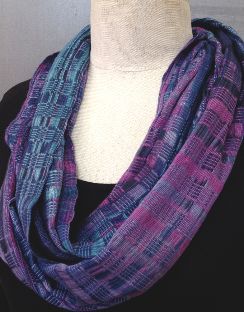 Multicolored Bamboo Infinity Scarf