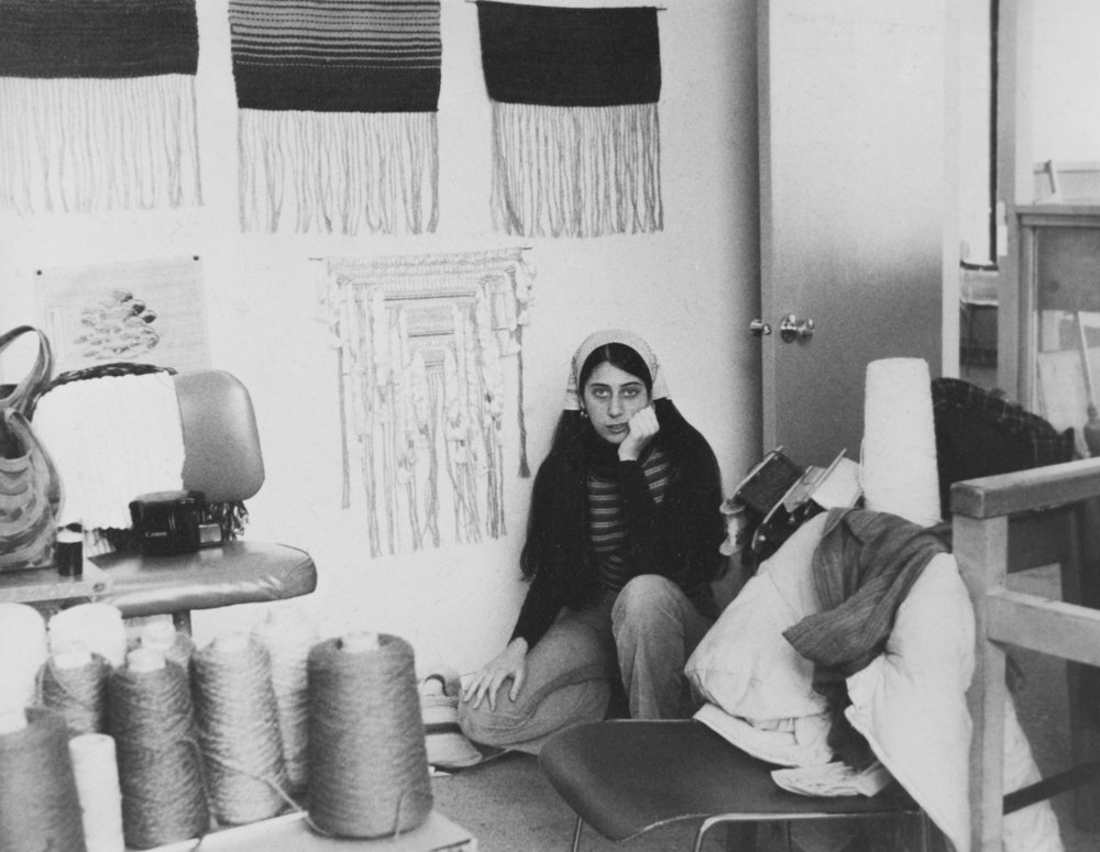 Southeastern Massachusetts University at Dartmouth: 1975. My first real studio space. MFA time of life.