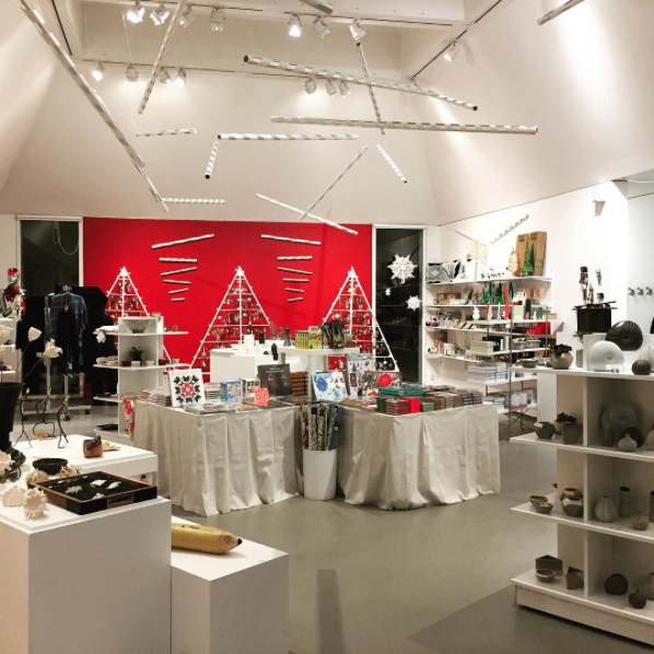 The Decordova store around the holidays