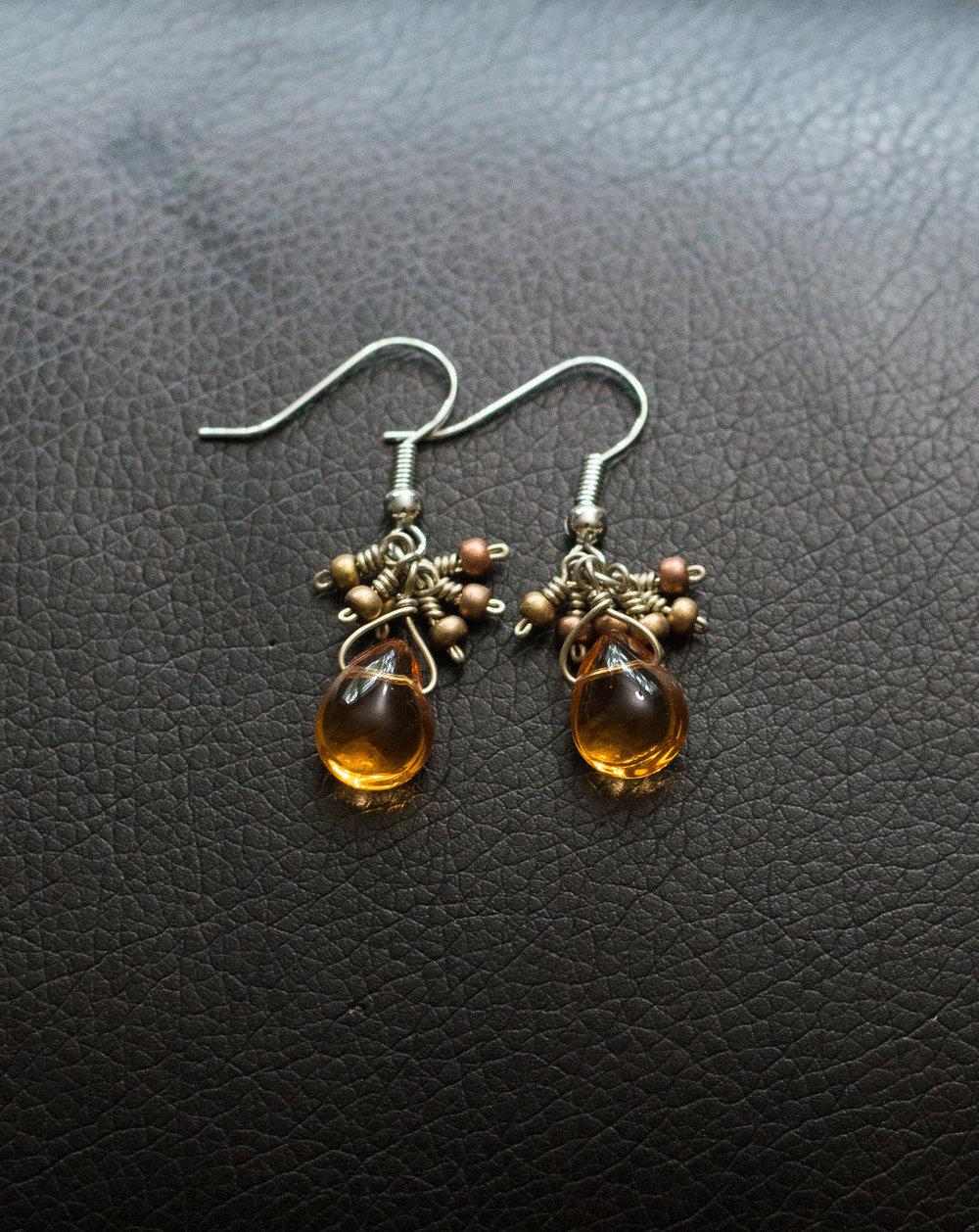 Semi-precious stones. Made in Guatemala