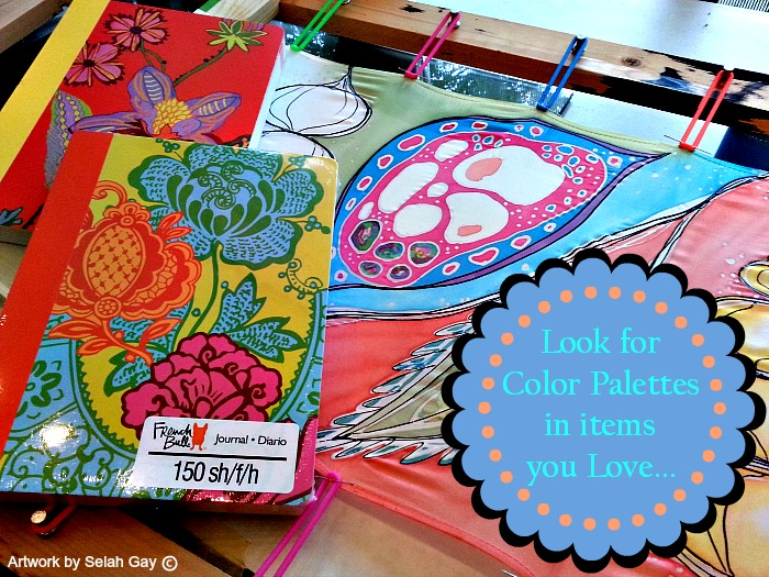 color palette journals