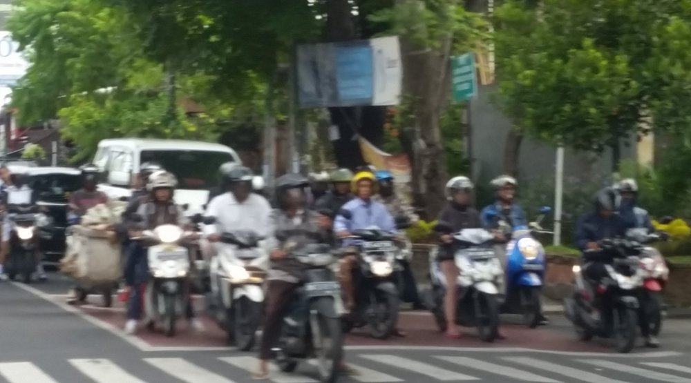 The hardest thing for me was the traffic.  I have never seen so many scooters.  They drive on the opposite side of the street and pedestrians have no right of way.  I couldn't tell what the rules of the road were but it all seemed to somehow work.