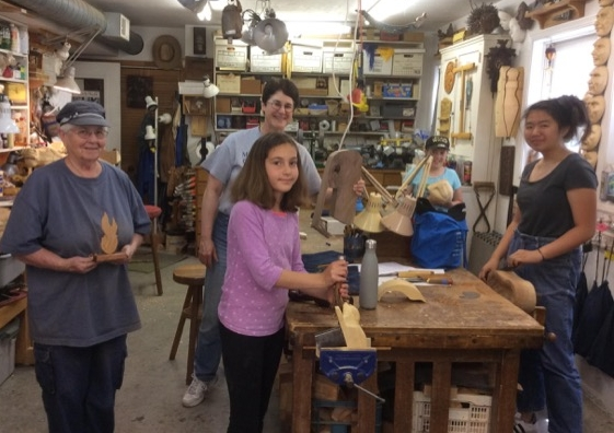 Women Woodcarvers Rock!!!