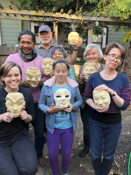 Balinese Mask Carving Workshop #2