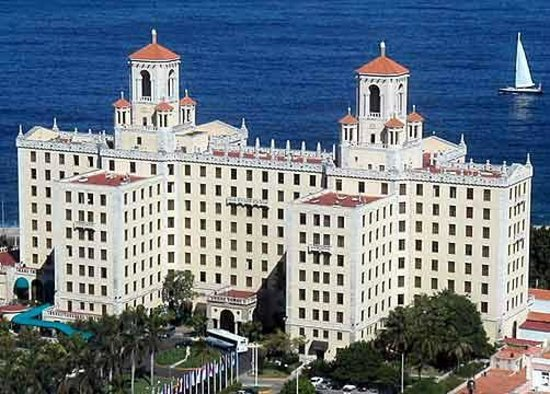 Hotel Nacional, a famous historic Hotel. Old Havana