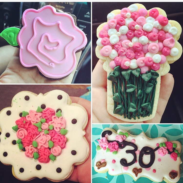 I ordered the cutest custom cookies from Randa Bites Bakery in Oklahoma City. LOVED how they turned out!