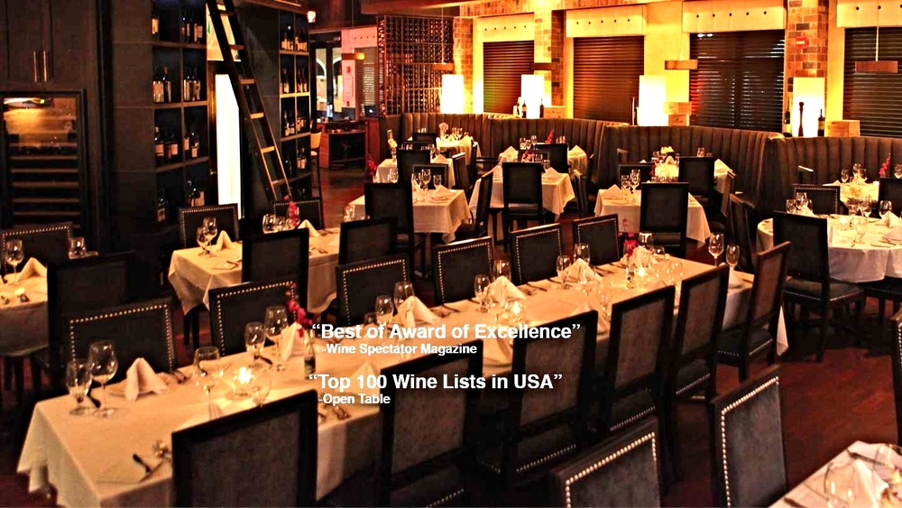 Vines grille wine bar orlando florida live jazz for Best private dining rooms orlando