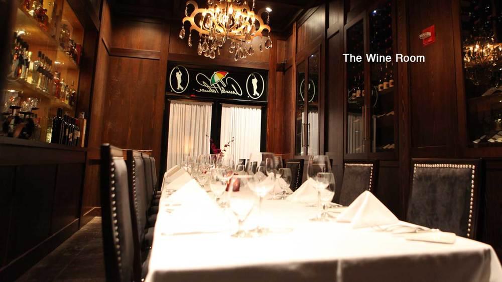 Arnold Palmer Wine Room