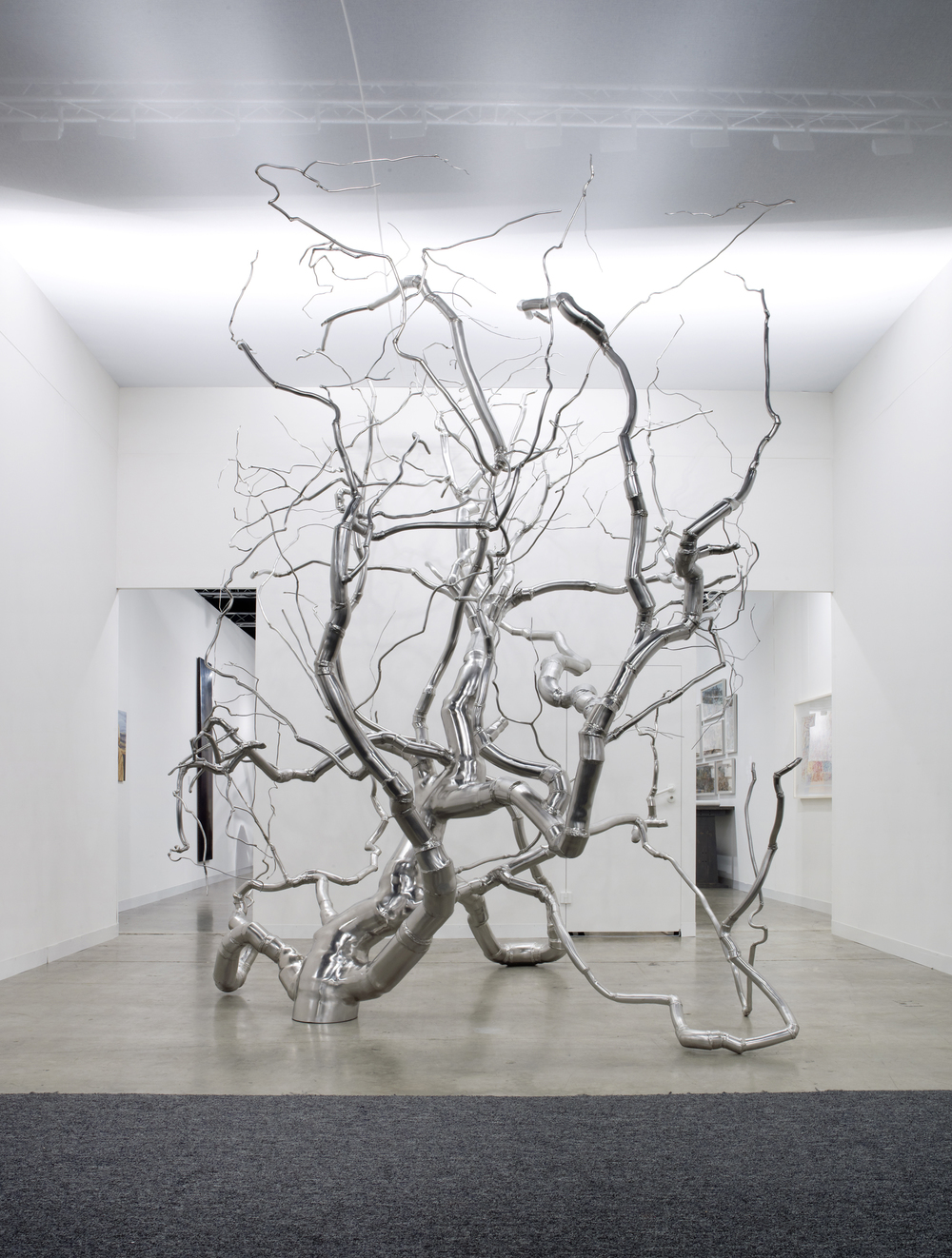 Containment 1, 2009, 14 x 8 x 8 feet