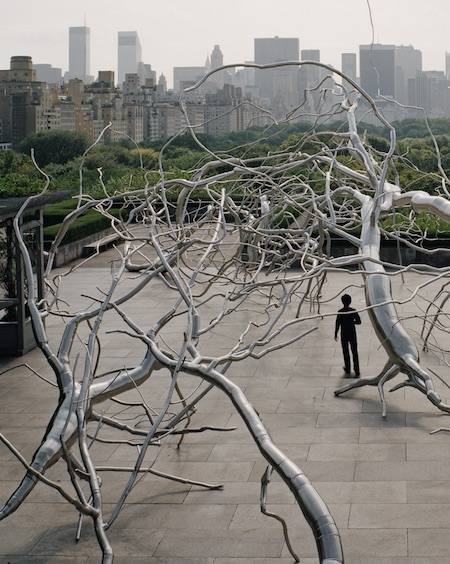 ROXY PAINE ON THE ROOF, 2009