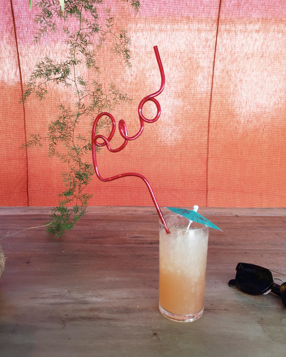 """Rio"" straws are a must for every Olympics party."