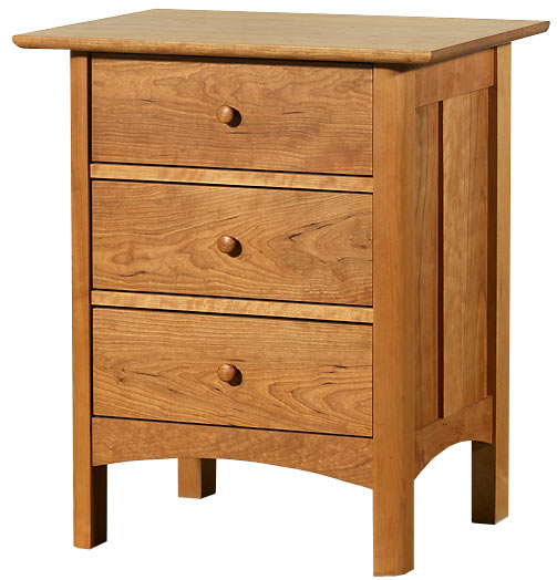 shaker night stand with drawer 2