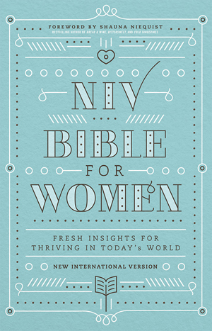 NIV, Bible for Women, Hardcover: Fresh Insights for Thriving in Today's World