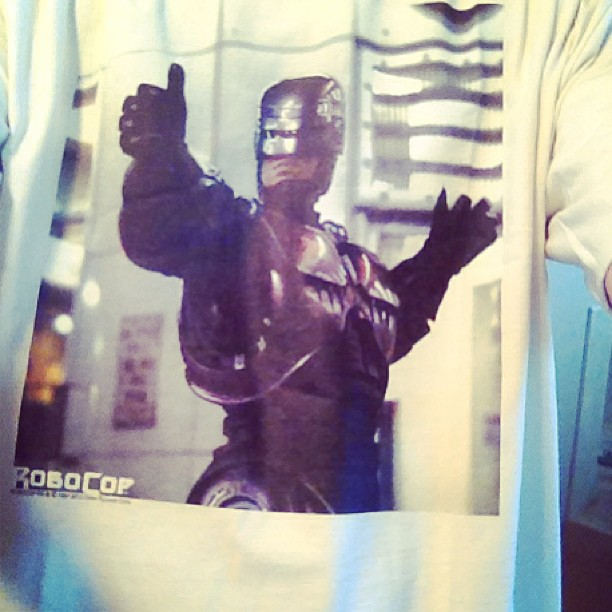 I checked w/ Robocop.. He said you were gonna have a great day.
