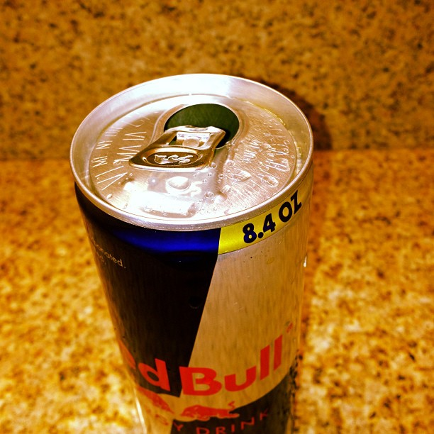 You know it's early when you drink a Redbull IN the shower.. (at Rosen Plaza Hotel)