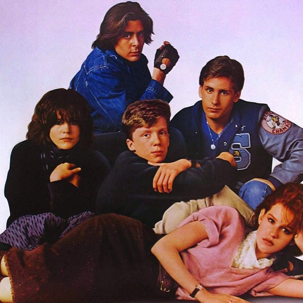 The breakfast club is on TV.. Anyone else love this movie?