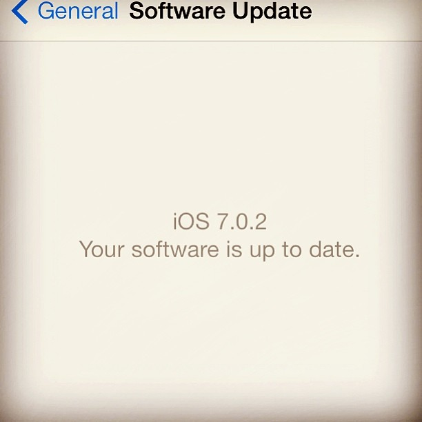 The new IOS 7 software is equal to Florida: nice to experience but the bugs will drive u insane…