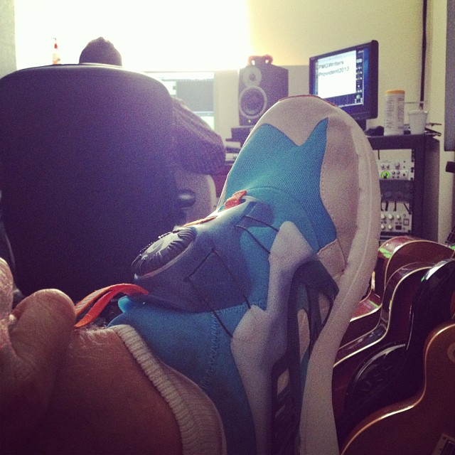 Fresh sneaks & fresh grooves… A lethal combination. (at Provident Music Group)